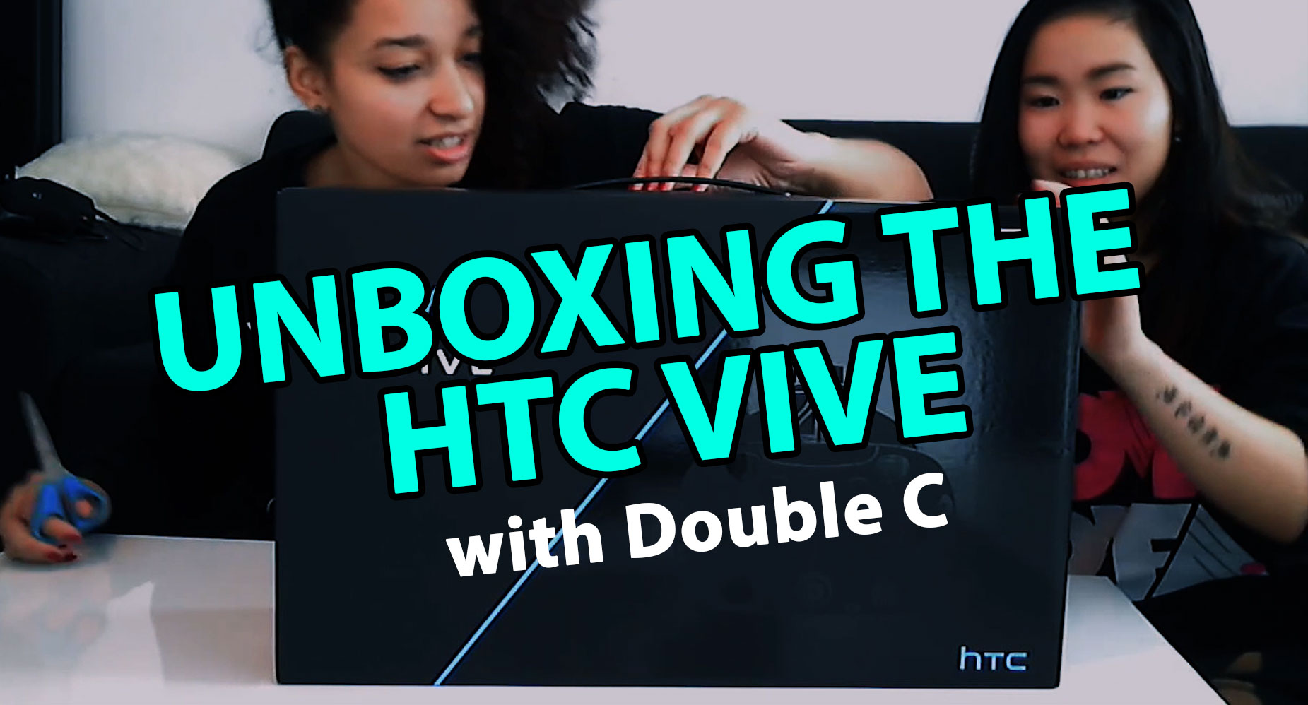 HTC VIVE Unboxing and Setup!