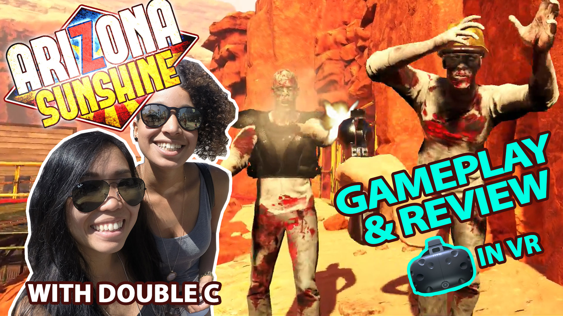 Zombies in Virtual Reality | Arizona Sunshine VR Review (HTC Vive Gameplay)