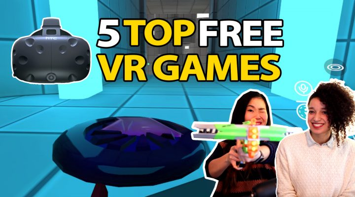 5 TOP FREE VR GAMES FOR HTC VIVE #1