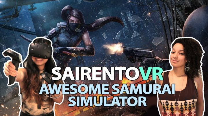 AWESOME SAMURAI VR GAME | Sairento VR Review (HTC VIVE Gameplay)