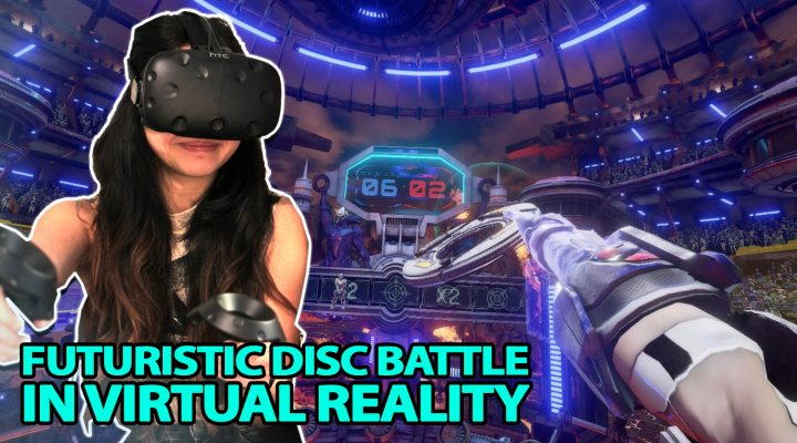 AMAZING PVP DISC BATTLE IN VR | Ripcoil VR Review (HTC Vive Gameplay – Oculus game on Revive)
