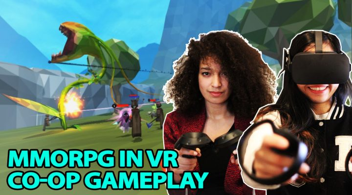MMORPG IN VR – FULL CO-OP GAMEPLAY  | OrbusVR MMO on HTC VIVE & OCULUS TOUCH