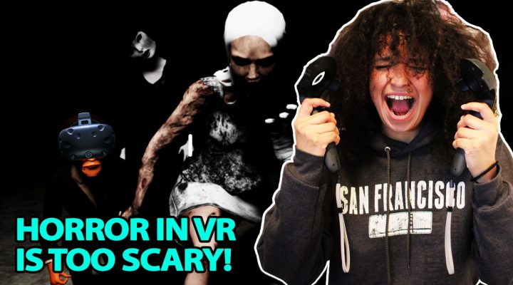 VR HORROR REACTION #2 | Emily Wants To Play VR (HTC Vive Gameplay)