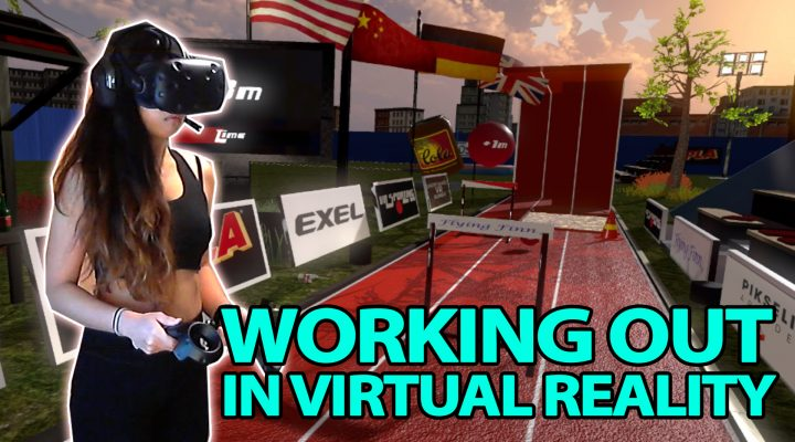 GREAT WORKOUT APP IN VIRTUAL REALITY | Unbreakable VR Runner Review (HTC Vive Gameplay)