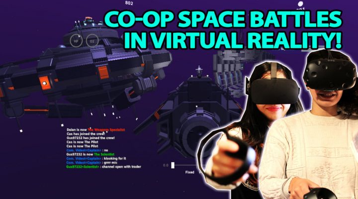 STAR TREK SIMULATOR IN VIRTUAL REALITY! | PULSAR: Lost Colony VR (Oculus Touch & HTC Vive Co-Op Gameplay)