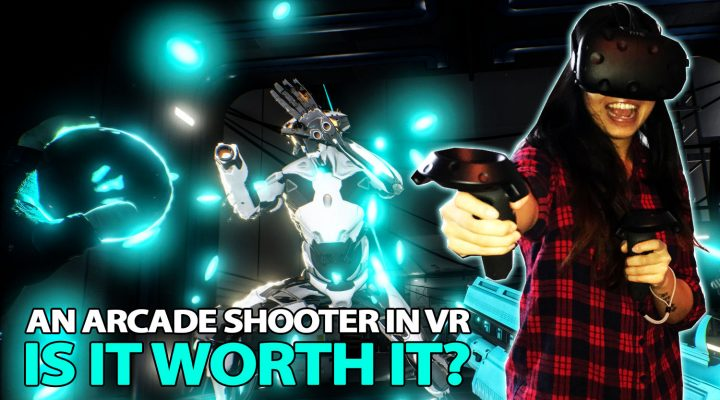 ARCADE SHOOTER IN VR | ROM: Extraction VR Review (HTC Vive Gameplay)