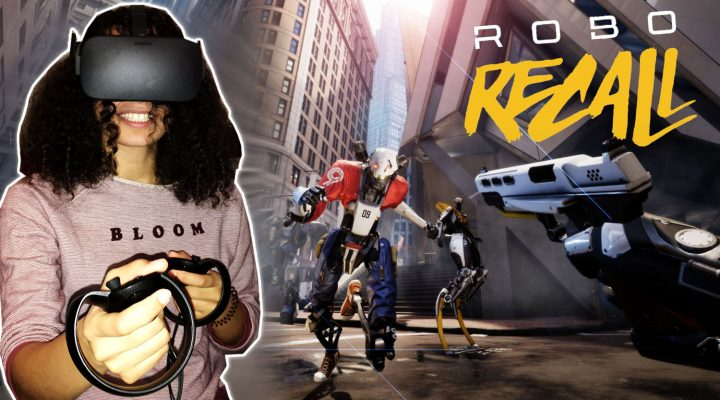 ALL VR SHOOTERS SHOULD FEEL LIKE THIS! | Robo Recall (Oculus Touch Gameplay)