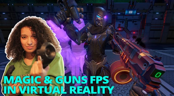 AWESOME MAGIC & GUNS FPS IN VR | Dark Legion VR Review (HTC Vive Gameplay)