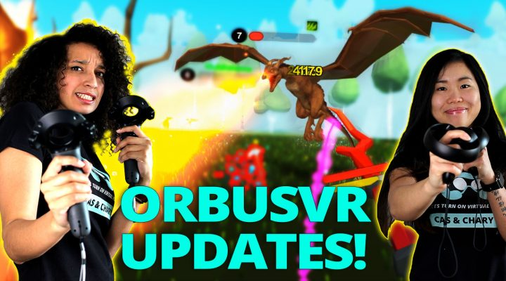 EXCITING UPDATES (CLOSED ALPHA TEST) | OrbusVR MMO (Oculus Touch & HTC Vive Gameplay) #3