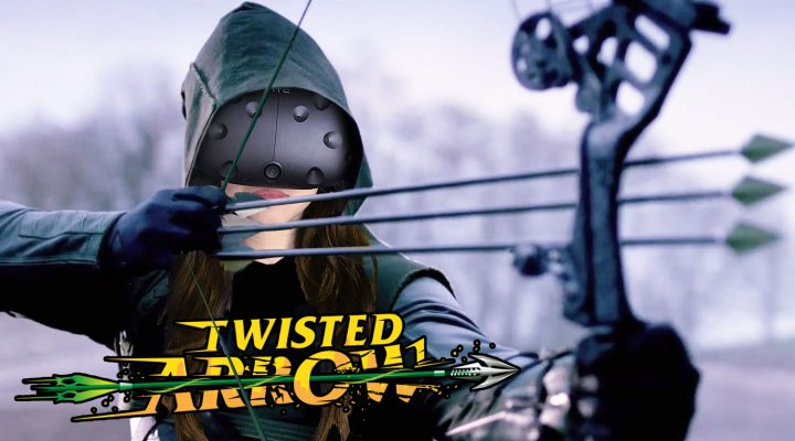 AWESOME ARCHERY COMBAT ACTION IN VR | Twisted Arrow Review (HTC Vive Gameplay)