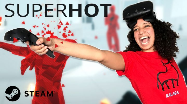 FINALLY STEAM VERSION! | SUPERHOT VR Review (HTC Vive Gameplay) | SUPERHOT VR Review (HTC Vive Gameplay)