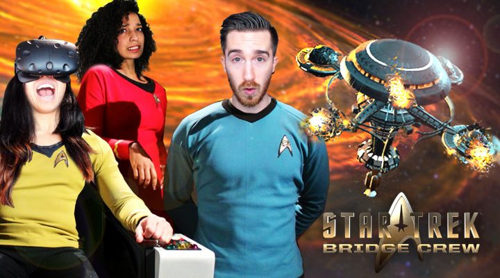 SURVIVING A BURNING SPACESHIP! | Star Trek Bridge Crew Review (Oculus Touch & HTC Vive Gameplay)