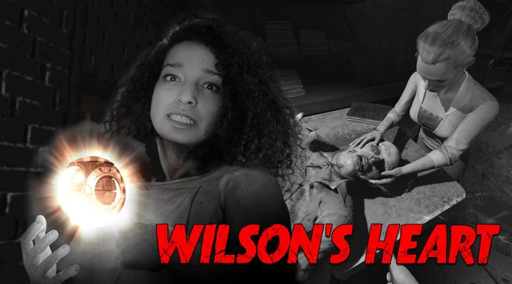 LET ME OUT OF THIS HAUNTED HOSPITAL! | Wilson's Heart VR (Oculus Rift + Touch Gameplay)