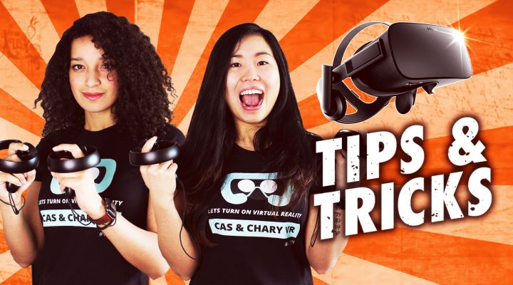 OCULUS RIFT TIPS AND TRICKS – Tracking room scale, mounts and how to wear the headset