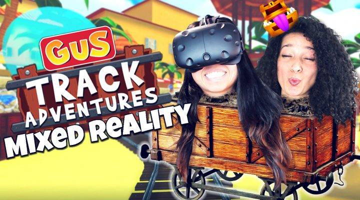 SAVING THE WORLD AS A DINOSAUR (IN MIXED REALITY) | Gus Track Adventures VR Review (HTC Vive Gameplay)