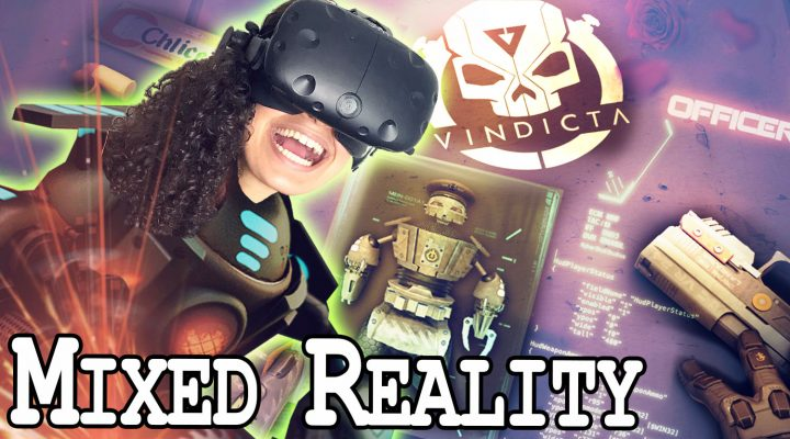 CRAZY VR SHOOTER IN MIXED REALITY | VINDICTA VR Review (HTC Vive Gameplay)