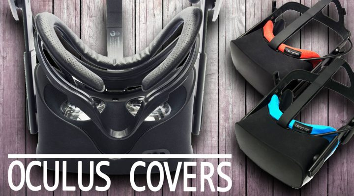 NEW VR COVER FACIAL INTERFACE & FOAM REPLACEMENT | VRCover Review & Installation (Oculus Rift)