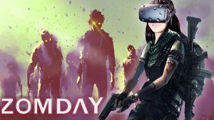 HALP!! ZOMBIE APOCALYPSE IN VIRTUAL REALITY | ZomDay VR (HTC Vive Gameplay)
