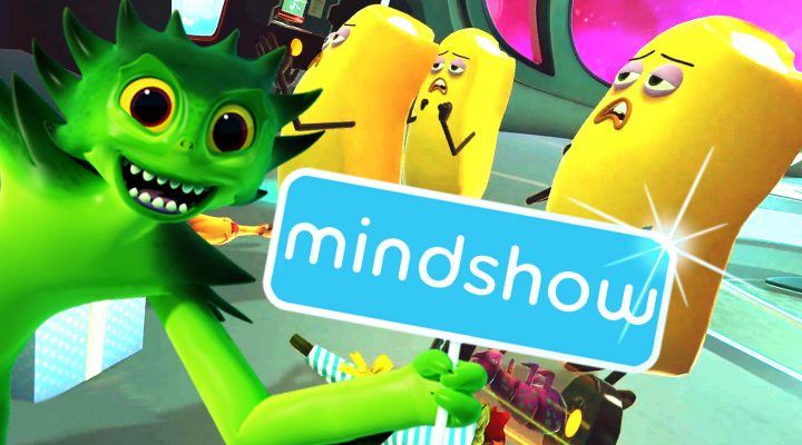 MAKE ANIMATION SHOWS IN VIRTUAL REALITY! | Mindshow VR Gameplay (HTC Vive Gameplay)