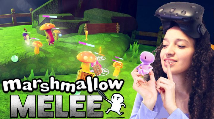 CUTEST DUNGEON CRAWLER IN VR | Marshmallow Melee VR (HTC Vive Gameplay)