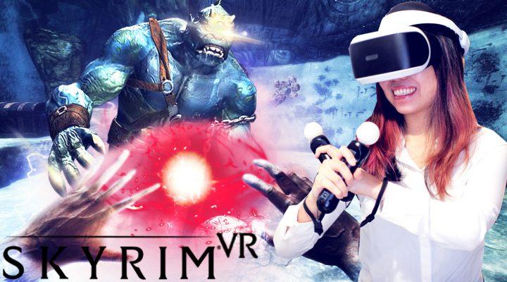 AN OVERVIEW OF SKYRIM IN VR + FIRST IMPRESSIONS   Skyrim VR gameplay (PlayStation VR - PSVR)