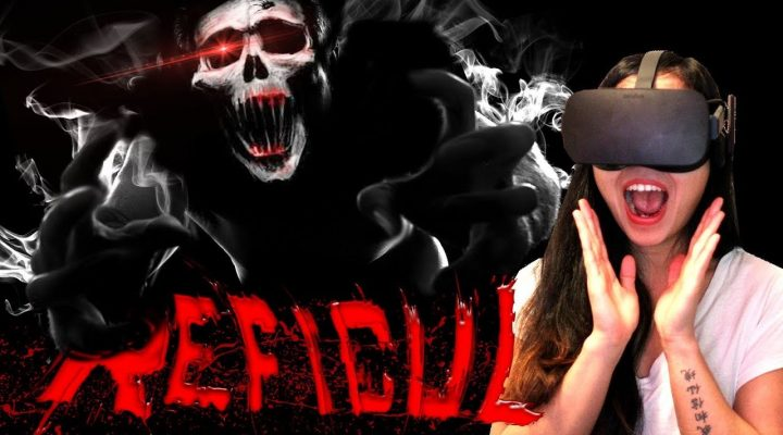 SCARY OPEN WORLD VR HORROR (FUNNY REACTIONS)! | Reficul VR Gameplay (Oculus Rift + Touch Gameplay)