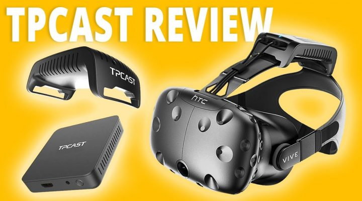 TPCAST HTC VIVE REVIEW