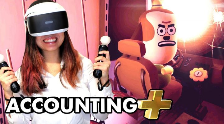 NEW WEIRD IN ACCOUNTING PLUS! | Accounting+ VR Gameplay (PSVR – PlayStation VR)