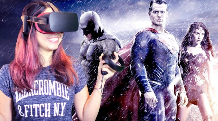 BECOME A SUPERHERO IN VIRTUAL REALITY | Justice League VR: The Complete Experience Review (Oculus)