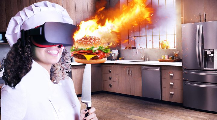 WORST CHEF EVER IN VR COOKING SIMULATOR! | The Cooking Game VR (Oculus Rift Gameplay)