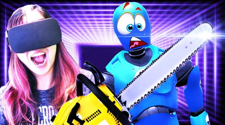 CHAINSAW MASSACRE IN VR HAPPY ROOM | Rage Room VR Review (Oculus Rift + Touch)