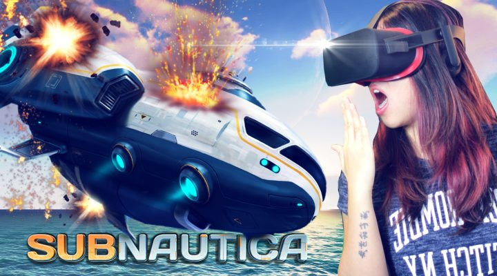 SURVIVING ALIEN OCEANS IN VIRTUAL REALITY! | Subnautica VR Full Release (Oculus Rift Gameplay)