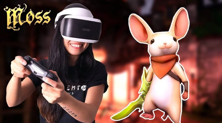 THE STORY OF A TINY HERO! | Moss VR Gameplay + Giveaway (PSVR – PlayStation 4)