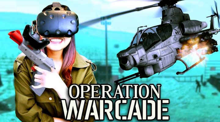 HYPER BLASTER WITH VIVE TRACKER REVIEW (VR GUN)! | Operation Warcade VR Gameplay (HTC Vive)