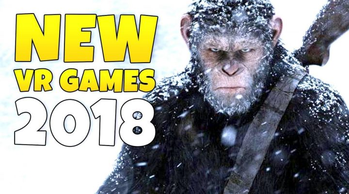 Top 20 Upcoming VR Games in 2018 / NEW VR Games in 2018 - PART 2