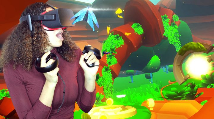 BEAUTIFUL ZEN-LIKE VR ADVENTURE | Paper Valley VR Review (Oculus Rift + Touch Gamplay)