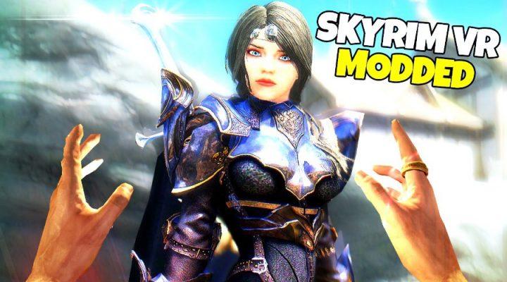 Skyrim VR Mods Gameplay (HTC Vive Pro) - Part 2