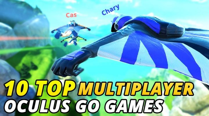 10 Top Multiplayer Oculus Go Games To Play With Friends!!