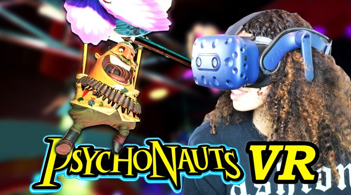 BECOME A PSYCHIC SECRET AGENT!! | Psychonauts in the Rhombus of Ruin VR Gameplay (HTC Vive Pro)