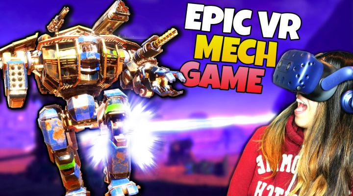 VR MECH SIMULATOR - EPIC MECH BATTLES!! | VOX Machinae VR Gameplay (HTC Vive)