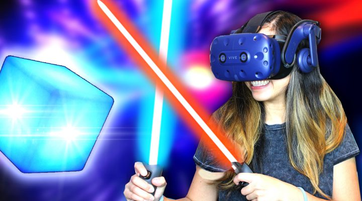 HOW TO FEEL ABSOLUTELY EPIC IN VIRTUAL REALITY! – Beat Saber Gameplay (MR with HTC Vive Pro)