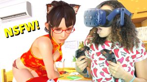 WHAT AM I DOING TO MY VR GIRLFRIEND?! – VR Kanojo Gameplay (HTC Vive Pro)