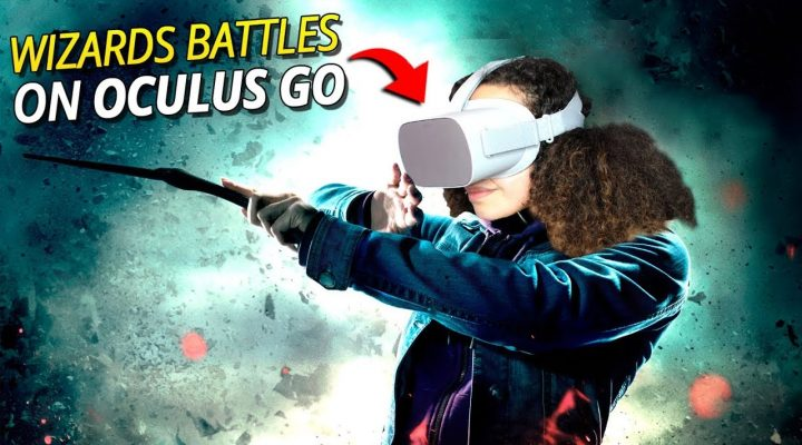 WIZARD MAGIC BATTLES IN VR!! - Wands (Oculus Go Games)