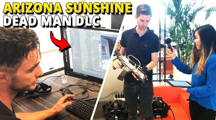 We Got A Tour At Vertigo Games – Devs of Arizona Sunshine + Dead Man DLC Review!