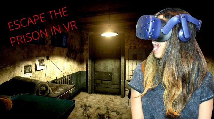 ESCAPE THE PRISON IN VR! - CrossSide The Prison Gameplay (HTC Vive Pro)
